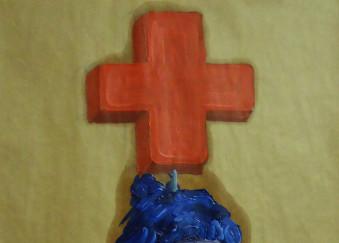 Olio su carta da imballaggio - 50 x 75 cm - 2012
