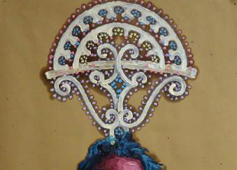 Olio su carta da imballaggio - 49 x 76 cm - 2012