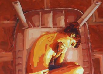 Olio su tela - 88 x 112 cm - 2011